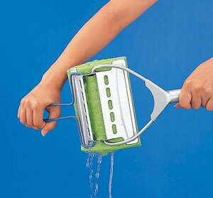 絞り機能付きの水拭き用スポンジワイパーコンドルシルバーワイパーU