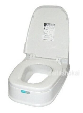 【楽天最安値に挑戦中!】工事不要!置くだけで、和式→洋式トイレに早変わりリフォームトイレ両用式