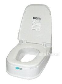 工事不要!置くだけで、和式→洋式トイレに早変わりリフォームトイレP型両用式 リフォームトイレ両用式