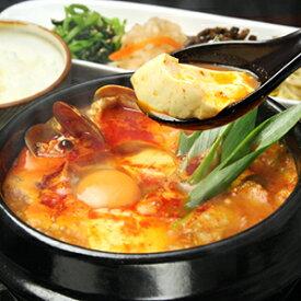 【送料込】 スンドゥブチゲの素 3個セット 450g×3 / おうちで 専門店の味 豆腐と卵を入れるだけ 簡単 豆腐 チゲ ギフト