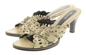 【中古】 COMME CA DU MODE footwear コムサデモード フットウェア レディース サンダル L ブランド 【良品】 【,v1314,】 箱・付属品はお付けできません