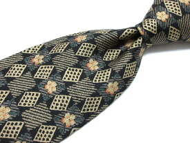 ブランド ネクタイ 【中古】H&M COLLECTION エイチアンドエムコレクション 花柄 ブランド ネクタイ 良品 メンズ プレゼント