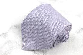 アルマーニ コレツィオーニ ARMANI COLLEZIONI 刺繍 シルク イタリア製 ストライプ柄 パープル シルク ブランド ネクタイ 送料無料 【中古】【良品】
