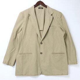 [美品] エルエルビーン L.L.Bean XLサイズ テーラードジャケット カジュアル アウトドア メンズ服 大きいサイズ ベージュ ブランド古着 【中古】