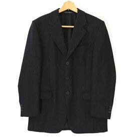 [美品] フェンディ FENDI -サイズ ジャケット テーラード ブレザー フォーマルにも メンズ 紳士服 アウター イタリア製 ブラック ブランド古着 【中古】