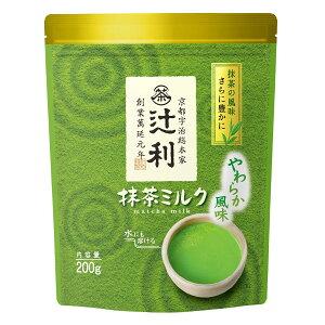 宇治辻利 抹茶ミルクやわらか風味 200g