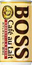 サントリーボスカフェオレ185g缶x30個