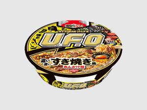 日清焼そばU.F.O.濃い濃いすき焼き風あんかけ麺x12個