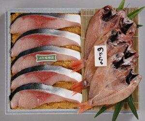 【味の十字屋】のどぐろ一夜干・ぶり味噌漬詰合せ (FNB-100) ギフト 北陸 石川 金沢銘店 海産物 クール便 冷凍