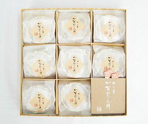 【越山甘清堂】羽二重 加賀れんこん餅9個入 ギフト 北陸 石川 金沢銘菓 和菓子