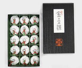 【落雁諸江屋】金の霊沢15個入り ギフト 北陸 石川 金沢銘菓 落雁
