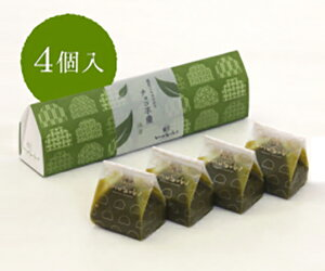 【和菓子村上】なめらかチョコ羊羹(抹茶)4入 ギフト 北陸 石川 金沢銘菓 和菓子