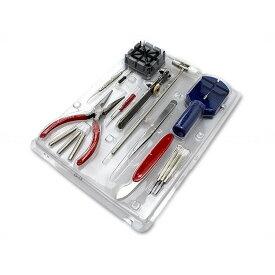 腕時計工具セット 16点 時計修理 メンテナンス 電池交換