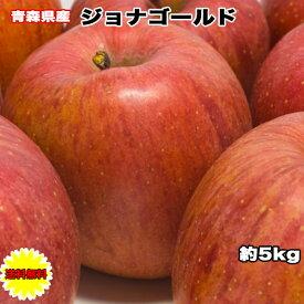 りんご 訳あり 5kg 青森県 ジョナゴールド 5kg 送料無料 ご家庭用 糖度保証 青森県産 青森県 当店のりんごは糖度保証 毎日の健康の為に、そのままでもジュースにしても