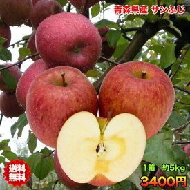 りんご サンふじ りんご 訳あり 5kg 送料無料 りんご 青森 りんご 5kg りんご サンふじ さんフジ ご家庭用 クール対応 糖度保証 CA貯蔵 青森県産 青森県 普通便送料無料 当店のりんごは糖度保証 毎日の健康の為に、そのままでもジュースにしても