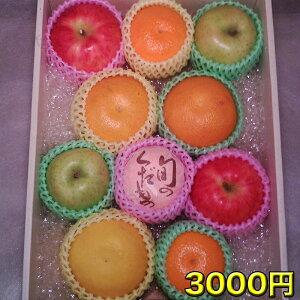 送料無料 店長 いちおし 自慢の フルーツ 詰合せ おまかせ セット 3000円 フルーツ くだもの お取り寄せ 贈り物 ギフト 贈答品 食品 お歳暮