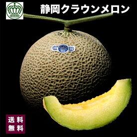 高級ブランド 静岡県 クラウン メロン 白クラス 1箱 1個入り 約1.2kg 3800円 送料無料 敬老の日 ギフト