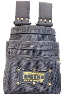 ニックス 腰袋 チェーンタイプ オールバリステック 3段腰袋 BA-301DDX 工具差し 腰道具 在庫あり