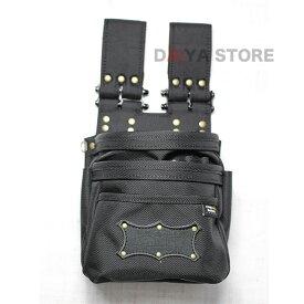 ニックス 腰袋 チェーンタイプ オールバリステック 3段腰袋 BA-301DDX 工具差し 腰道具