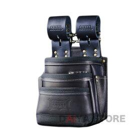 ニックス 総ヌメ革使用 3段腰袋 チェーンタイプ KBB-301DDX