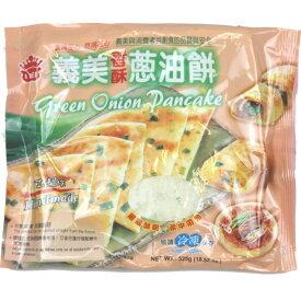 お得3袋セッ台湾義美葱油餅 ネギパンケーキ 105g×5枚入/袋  冷凍