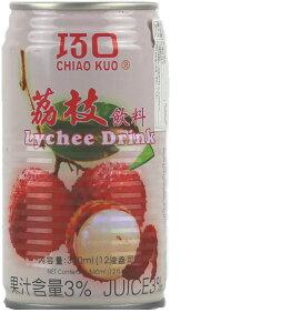 巧口茘枝汁 ライチジュース 台湾産 24缶