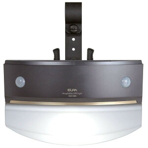 エルパ(ELPA) センサーライト もてなしのあかり 乾電池式 階段・手すりにおすすめ 転倒防止策に 白色LED HLH-1204(DB)