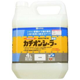 カンペハピオ 水性カチオンシーラー 乳白色 4L