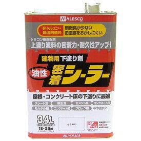カンペハピオ 油性密着シーラー とうめい 3.4L