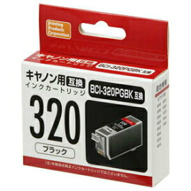 汎用インクカートリッジ キャノン(Canon) PP-C320BK