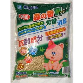 アース 猫砂楽園 森の香りダブル7L ペット用品