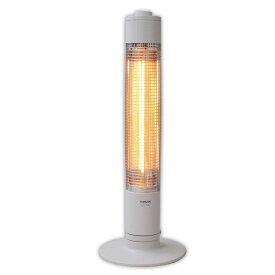 山善 グラファイトヒーター(900W/450W 2段階切替) 自動首振り機能付 ホワイト DCTS-A091(W)