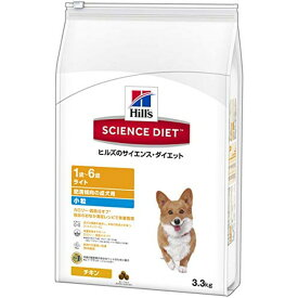 ヒルズのサイエンス・ダイエット ドッグフード ライト 肥満傾向の成犬用 体重管理 小粒 チキン 3.3kg