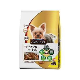 ベストバランス カリカリ仕立て ヨークシャー・テリア用 成犬用チキン・野菜・小魚・玄米入り 2kg