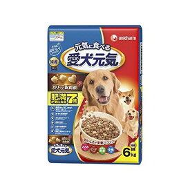 愛犬元気 肥満が気になる7歳以上用 ささみ・ビーフ・緑黄色野菜・小魚入り 6kg