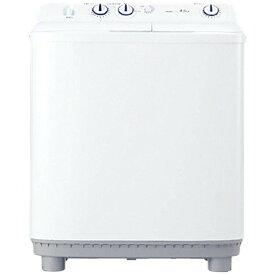 ハイアール 4.5kg 2槽式洗濯機 ホワイトHaier JW-W45E-W