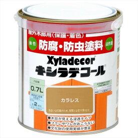 大阪ガスケミカル株式会社 キシラデコール カラレス 0.7L 塗料 補修用品 住宅資材