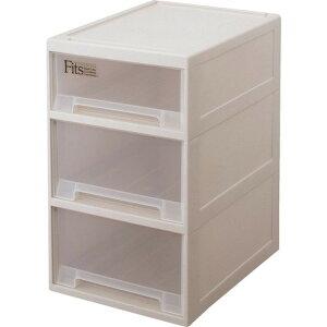 TENMA/天馬 収納ケース 収納ボックス 衣類ケース 衣装ケース プラスチック 引き出し fits フィッツケース 押入れ クローゼット 浅深3段