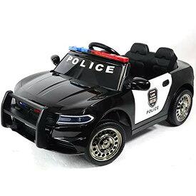 電動乗用 パトカー アメリカン ポリス BJC666 SIS 子供用 電動玩具 乗用玩具 電動乗用カー Police ラジコン 乗りもの プレゼント