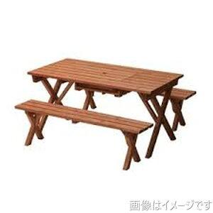 【在庫限り】バーベキューテーブル バーベキューテーブル BBQ アウトドア ガーデンファニチャー 家族団らん 3点セット BQT-140S