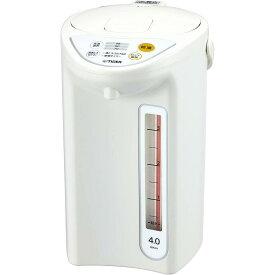 タイガー 魔法瓶 マイコン 電気 ポット 4L ホワイト PDR-G401-W Tiger