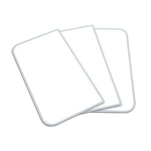 東プレ アルミ組合せ式風呂ふた センセーション(3枚割) L16 ホワイト/ホワイト 73×158cm 75×160cm用