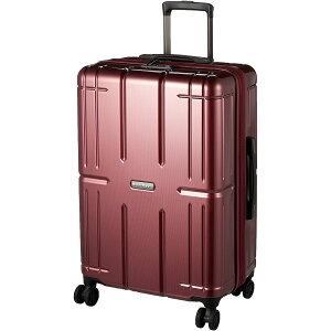 A.L.I アジア・ラゲージ ハードキャリー AliMax2 ウェーブワイン ALI-011-24W 65L(+12) スーツケース キャリーバッグ キャリーケース 旅行 出張