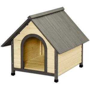 ウッディ犬舎?WDK-900?ブラウン アイリスオーヤマ | 犬小屋 ドッグハウス 屋外 木製 ログハウス