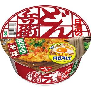 日清食品 どん兵衛 天ぷらそば [東] 100g×12個 1ケース分 カップ麺 そば 備蓄 食品