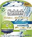 【定形外・ネコポス対応】シック ハイドロ 5 プレミアム 敏感肌用 (替刃8コ入)Schick HYDRO 5 PREMIUM