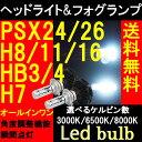 【LEDバルブ ヘッドライト/フォグランプ】12000ルーメン フィリップス製LED H7 H8 H11 H16 HB3 HB4 PSX24W PSX26W ホ...