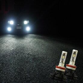 LEDバルブ ヘッドライト/フォグランプ ViTTORiO H7 H8 H11 H16 HB3 HB4 PSX24W PSX26W 3300lm ハイブリッド車対応 PHILIPS製チップ