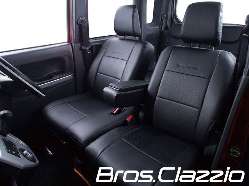 ウェイク シートカバー LA700S LA710S H26/11- ブロスクラッツィオ Clazzio/クラッツィオ (ED-6532