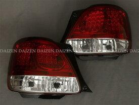 アリスト LEDテール JZS160系 LED赤白クリスタル COLIN/コーリン (TO3-622